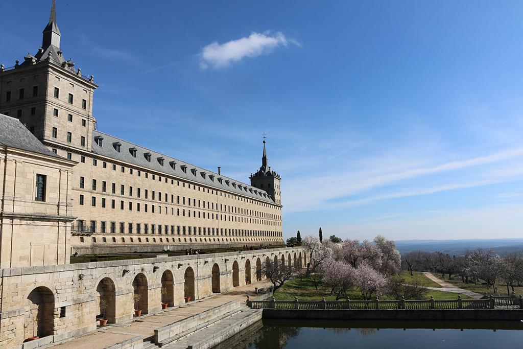 Vistas de Jardines Monasterio el Escorial
