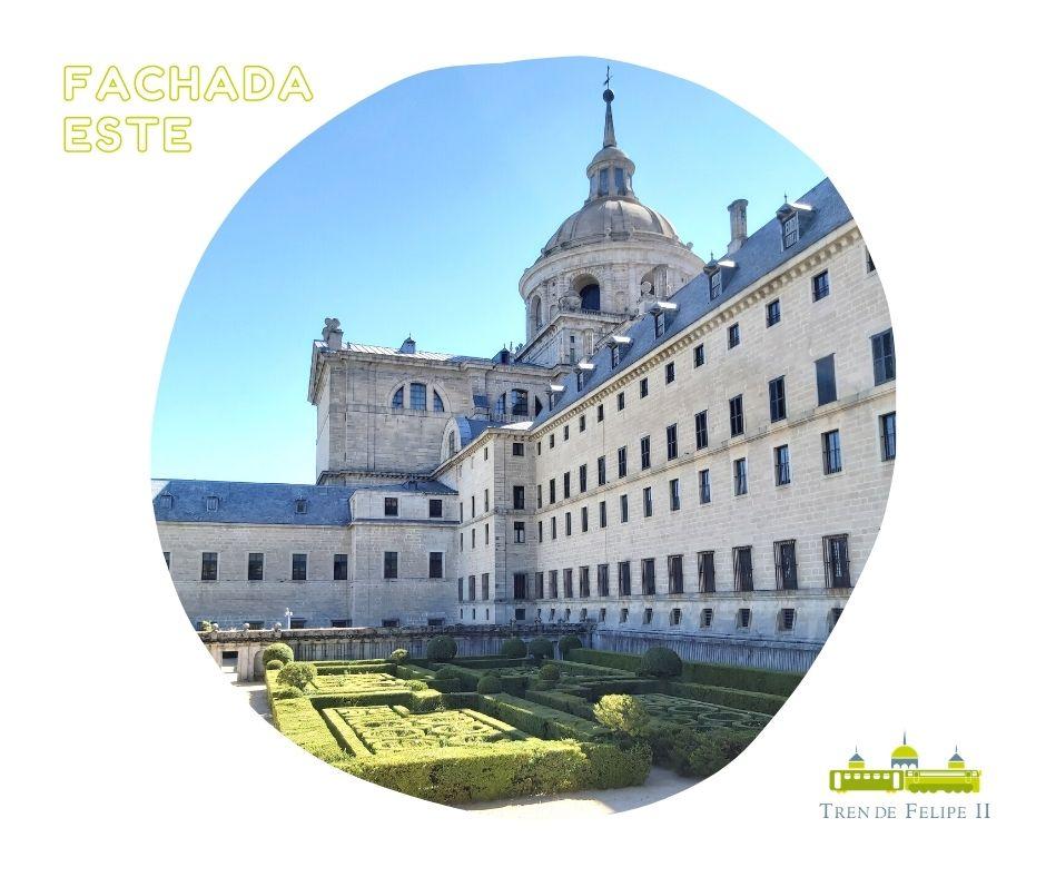 Fachada este Monasterio de San Lorenzo de El Escorial