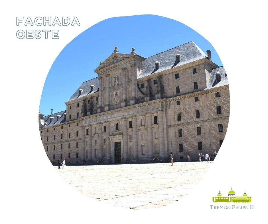 Fachada oeste Monasterio de San Lorenzo de El Escorial