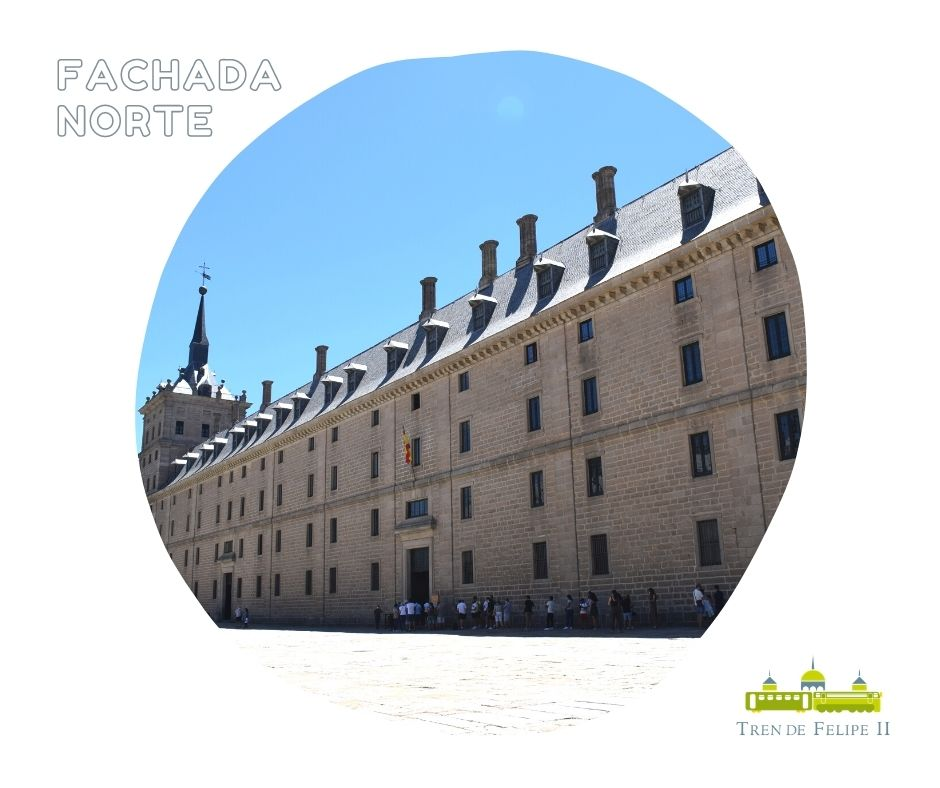 Fachada norte Monasterio de San Lorenzo de El Escorial