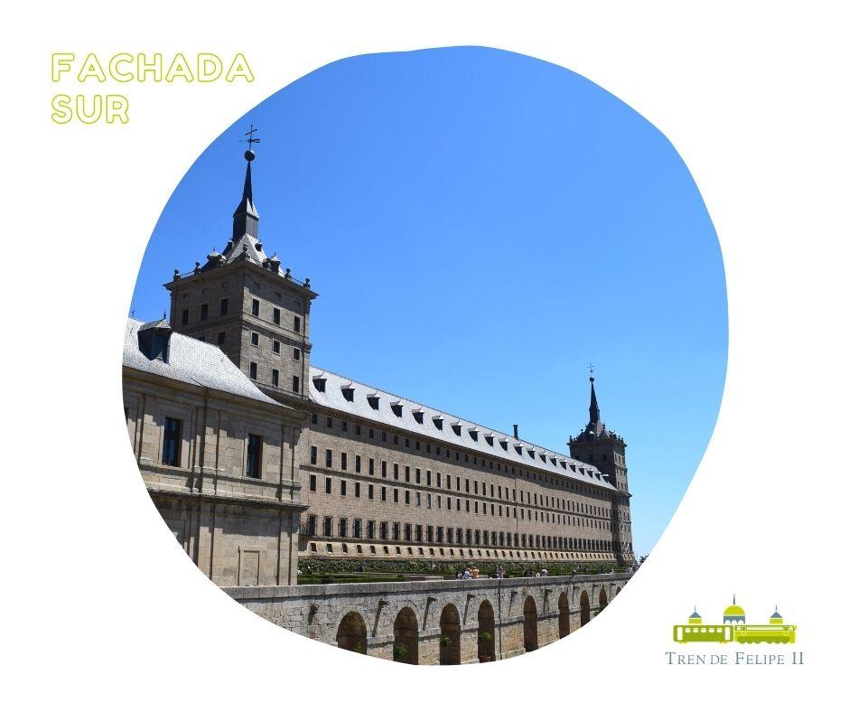 Fachada sur Monasterio de San Lorenzo de El Escorial