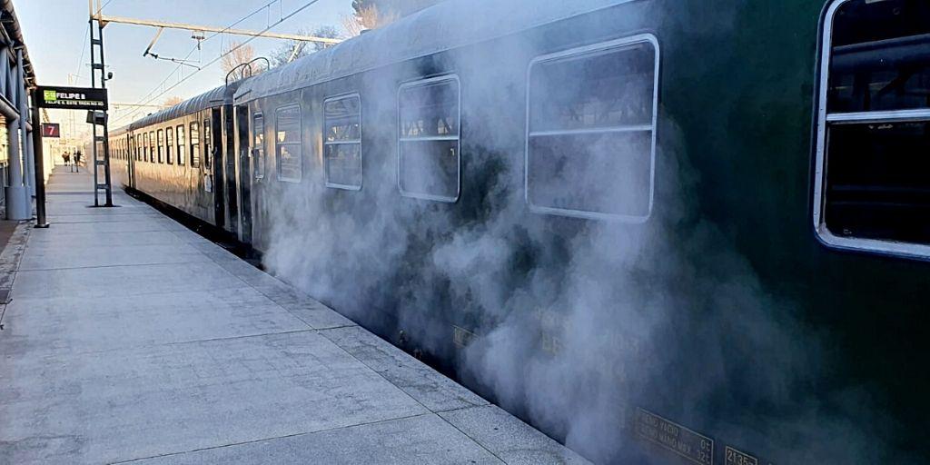 Calefacción a vapor del Tren de Felipe II