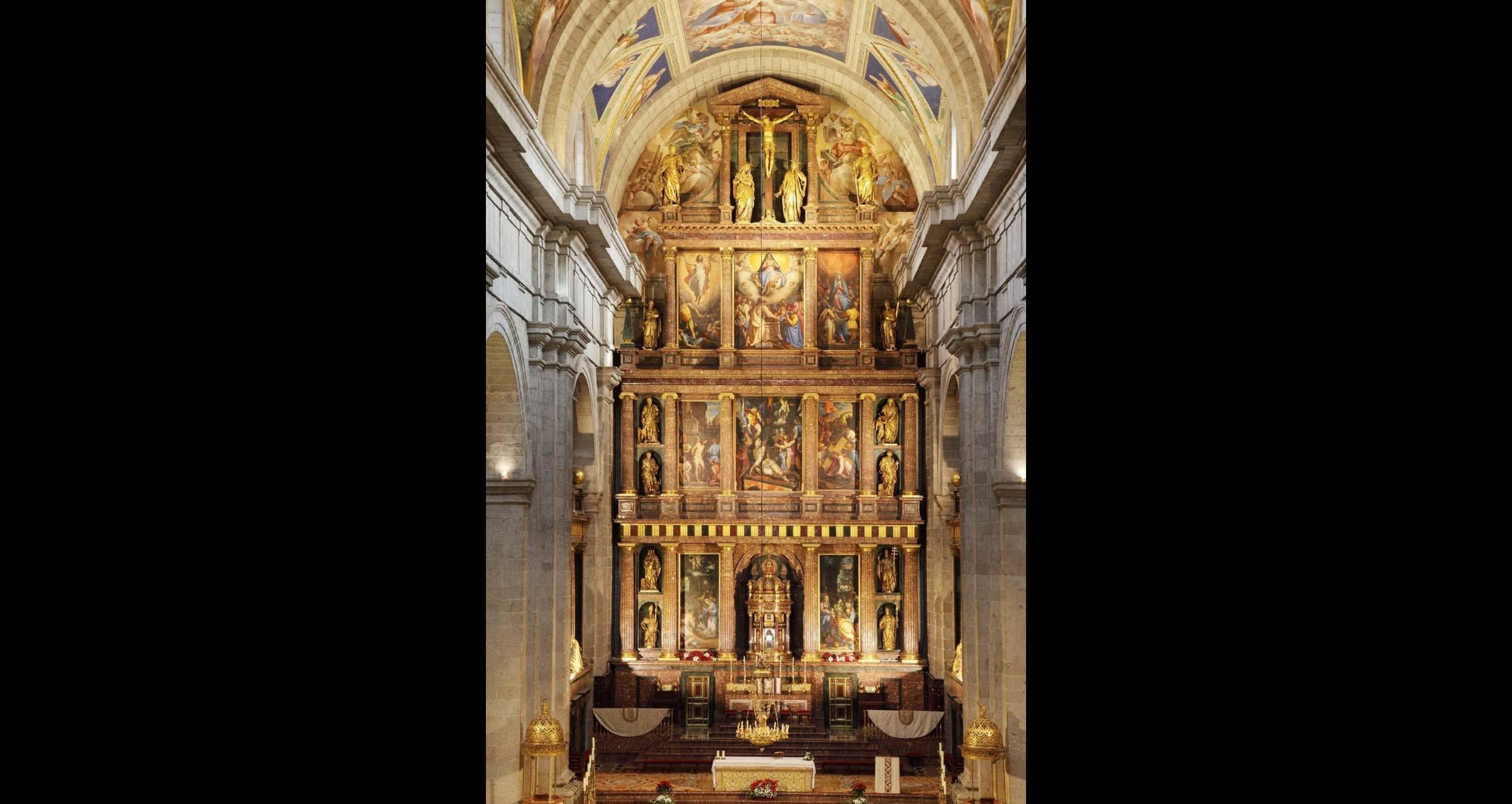 El Retablo Mayor de la Basílica del Monasterio de San Lorenzo de El Escorial
