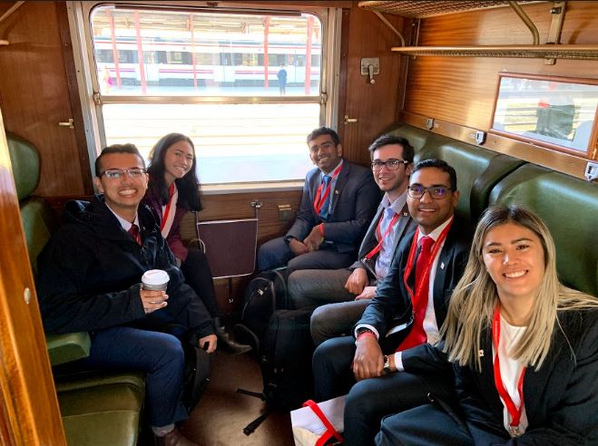 Harvard en el Tren de Felipe II