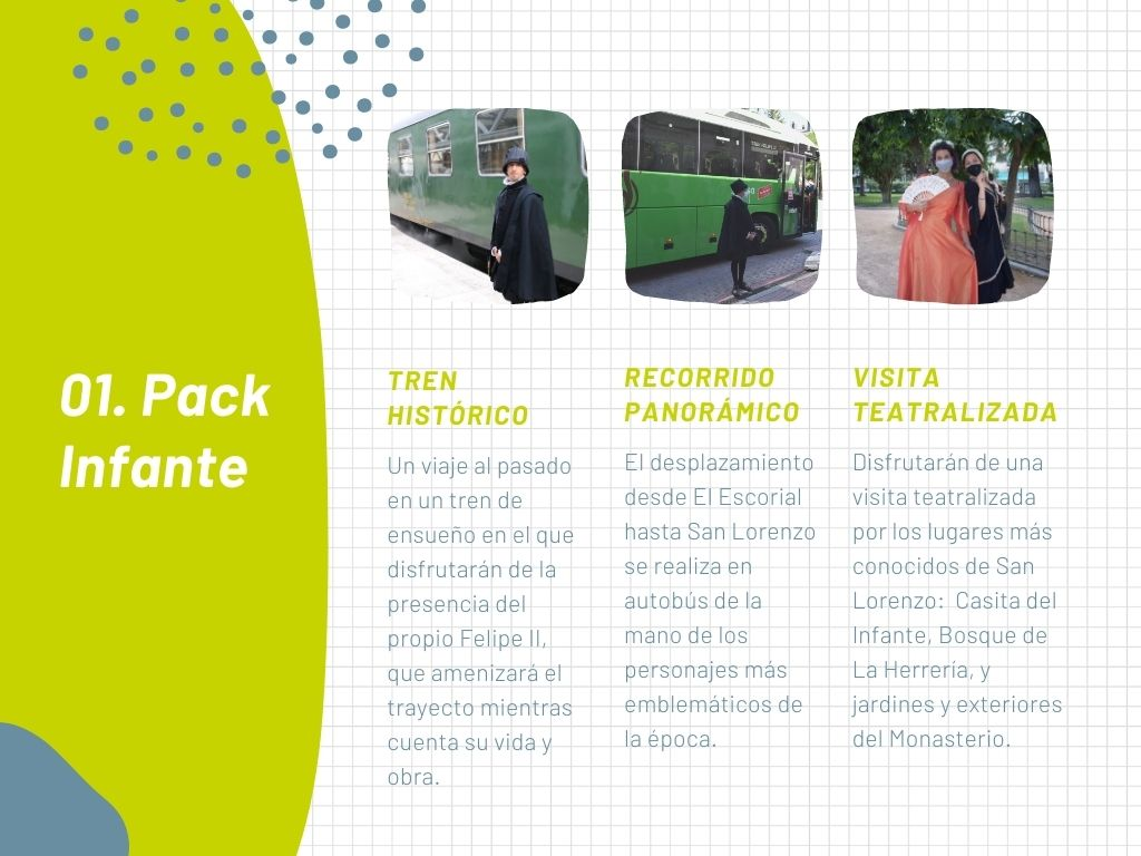Pack infante Tren de Felipe II