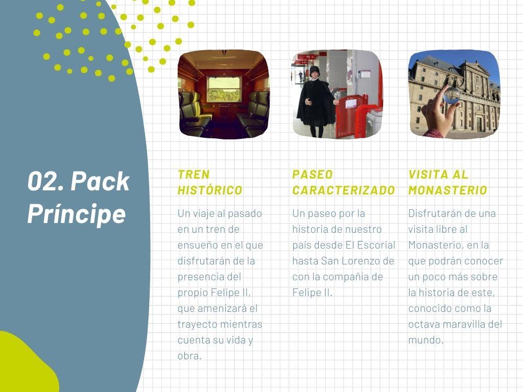Pack Príncipe Tren de Felipe II