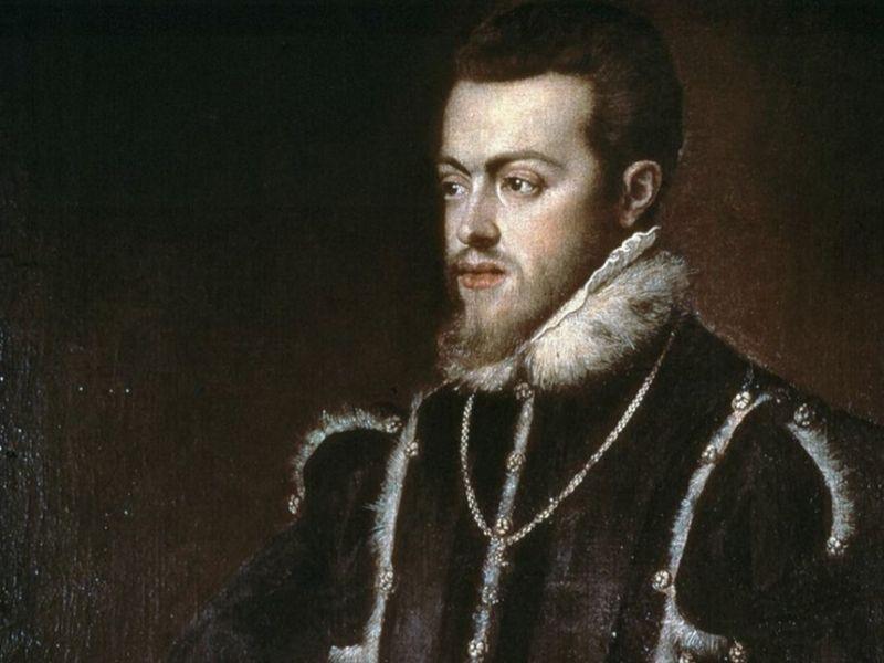 Felipe II, hijo de Carlos I de España y V de Alemania