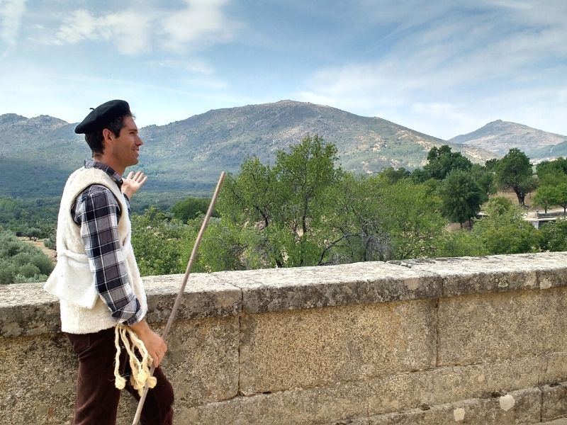 Alrededores del Monasterio de San Lorenzo de El Escorial