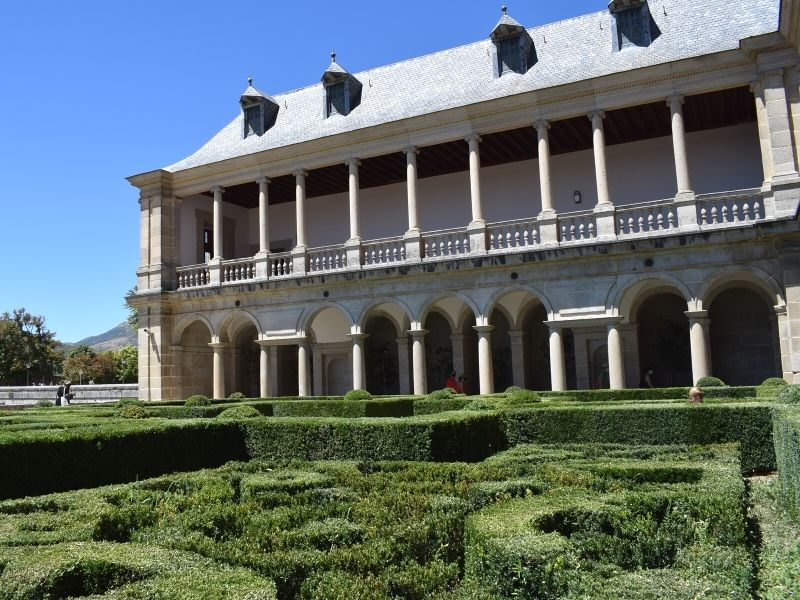 Jardín de los Frailes del Monasterio de San Lorenzo de El Escorial