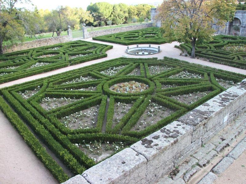 Jardín del Rey del Monasterio de San Lorenzo de El Escorial