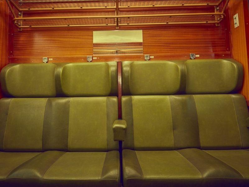 Grupo de asientos del Tren de Felipe II
