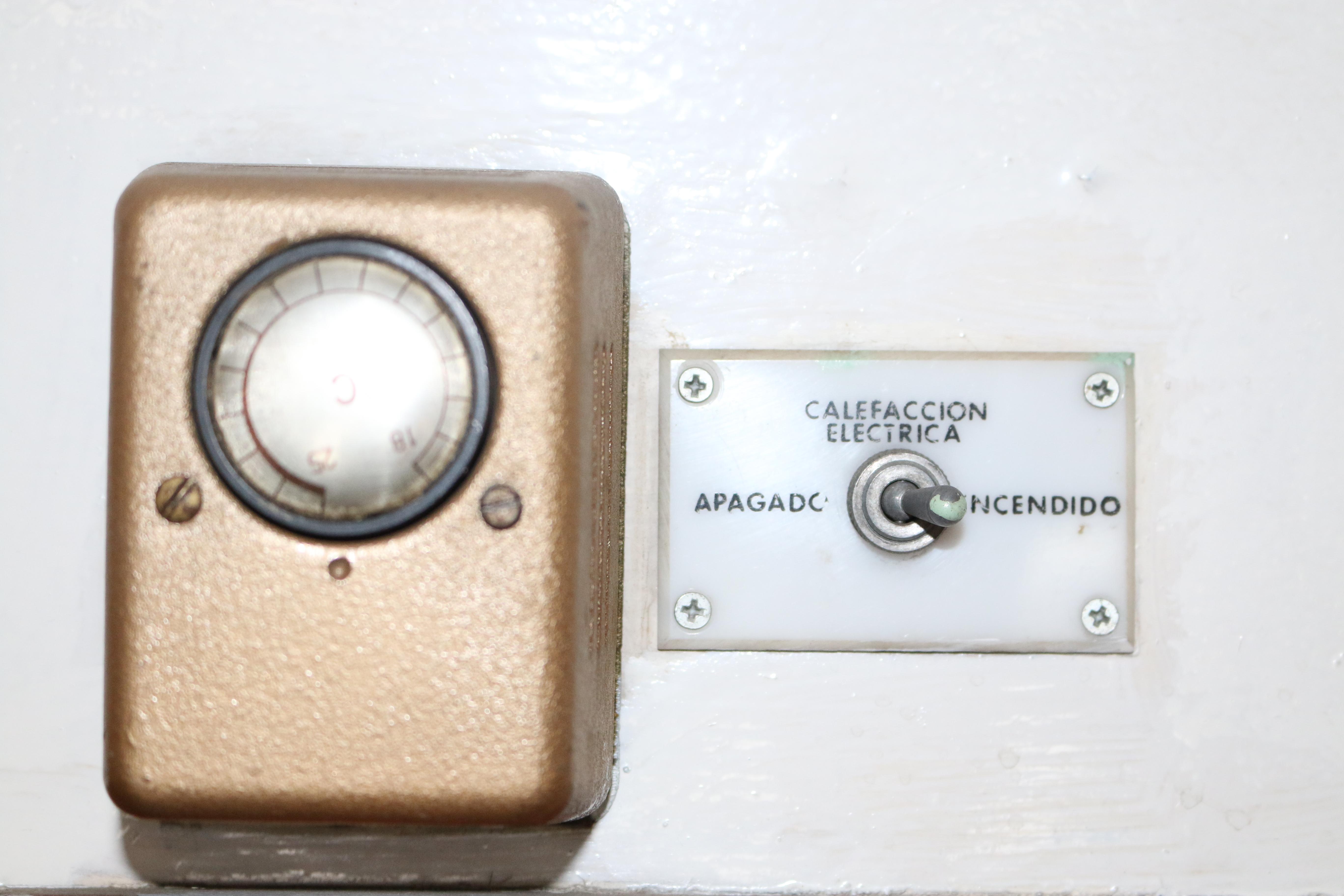 Mandos de calefacción eléctrica en Tren de Felipe II