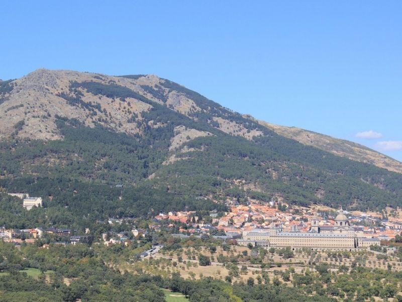 Vista panorámica desde la Silla de Felipe II